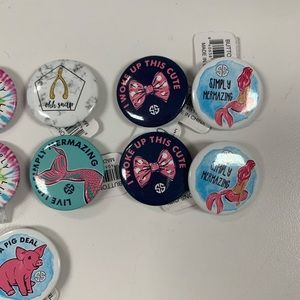 Simply Southern Tops - 14 Collectible Simply Southern Tees Pins NEW Retro